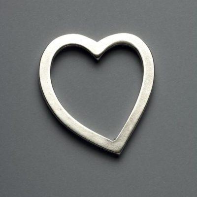 Μεταλλικό Χυτό Στοιχείο Ζάμακ  Καρδιά 59Χ56mm