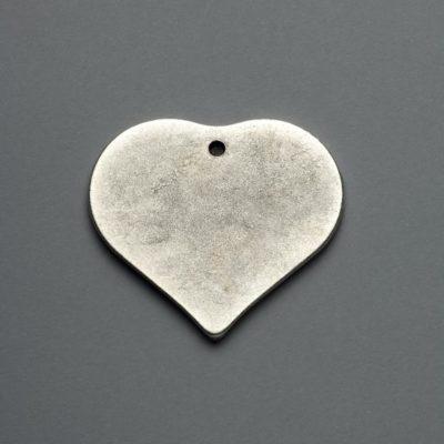 Μεταλλικό Χυτό Στοιχείο Ζάμακ  Καρδιά 53Χ48mm