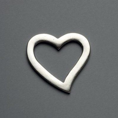 Μεταλλικό Χυτό Στοιχείο Ζάμακ  Καρδιά  40Χ38mm