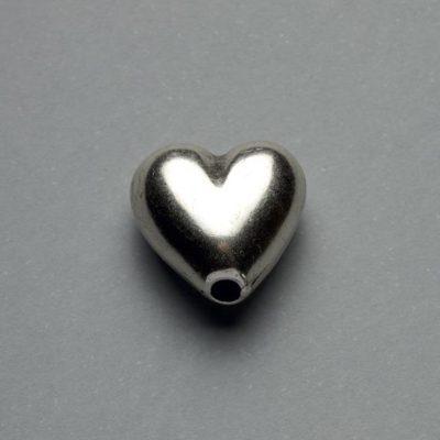 Μεταλλικό Χυτό Στοιχείο Ζάμακ Καρδιά 16X16mm