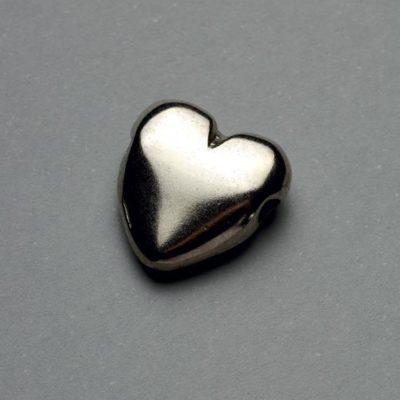Μεταλλικό Χυτό Στοιχείο Ζάμακ Καρδιά 16X14mm