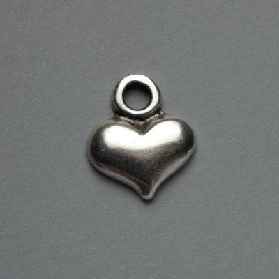 Μεταλλικό Χυτό Στοιχείο Ζάμακ Καρδιά 17X14mm