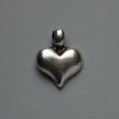 Μεταλλικό Χυτό Στοιχείο Ζάμακ Καρδιά 18X14mm