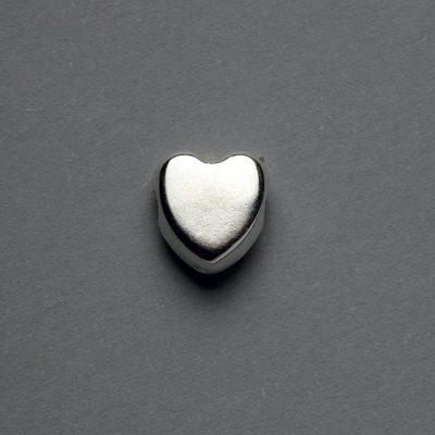Μεταλλικό Χυτό Στοιχείο Ζάμακ Καρδιά 10X8mm