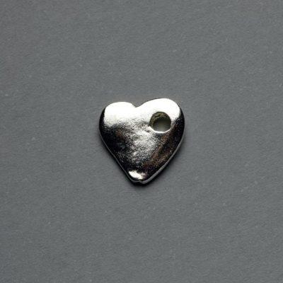 Μεταλλικό Χυτό Στοιχείο Ζάμακ Καρδιά 10X10mm