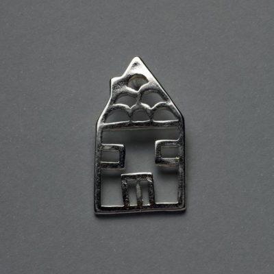 Μεταλλικό Χυτό Στοιχείο Ζάμακ Σπίτι 27Χ17mm