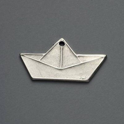 Μεταλλικό Χυτό Στοιχείο Ζάμακ Βάρκα 42Χ22mm