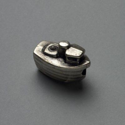 Μεταλλικό Χυτό Στοιχείο Ζάμακ Καράβι 19Χ17mm