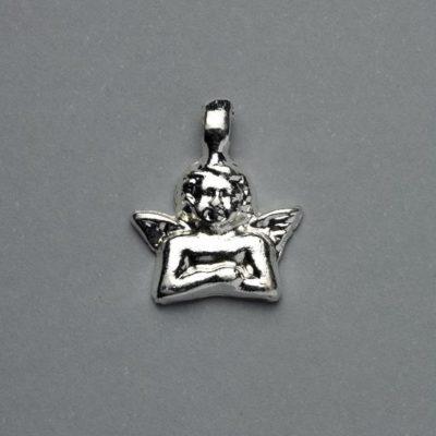Μεταλλικό Χυτό Στοιχείο Ζάμακ Άγγελος 15Χ19mm