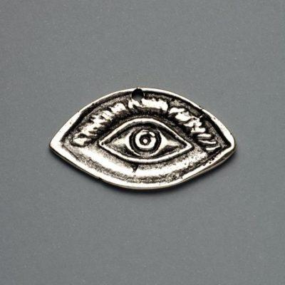 Μεταλλικό Χυτό Στοιχείο Ζάμακ Μάτι 41Χ24mm