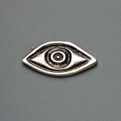 Μεταλλικό Χυτό Στοιχείο Ζάμακ Μάτι 36Χ19mm
