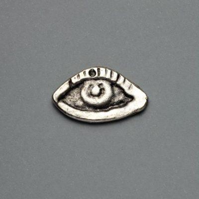 Μεταλλικό Χυτό Στοιχείο Ζάμακ Μάτι 26Χ16mm