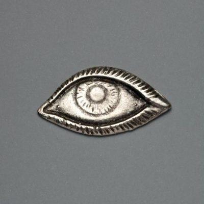 Μεταλλικό Χυτό Στοιχείο Ζάμακ Μάτι 48Χ26mm