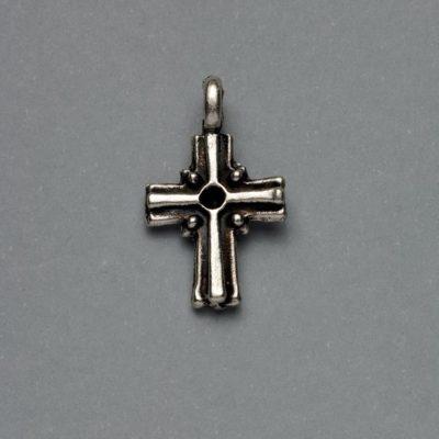 Μεταλλικό Χυτό Στοιχείο Ζάμακ Σταυρός 23Χ12mm