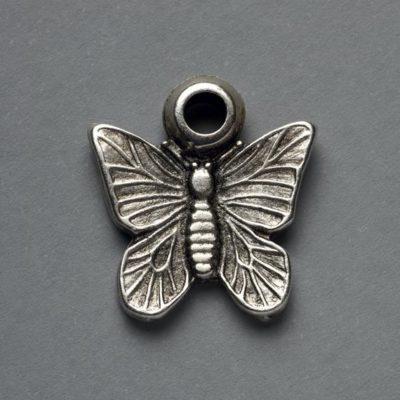 Μεταλλικό Χυτό Στοιχείο Ζάμακ Πεταλούδα 20X19mm