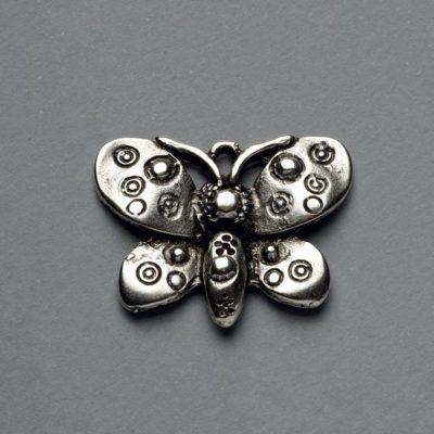 Μεταλλικό Χυτό Στοιχείο Ζάμακ Πεταλούδα 22X29mm
