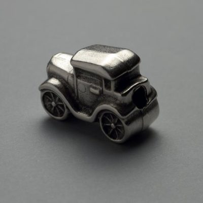 Cast Zamak Bead Car 24Χ19mm