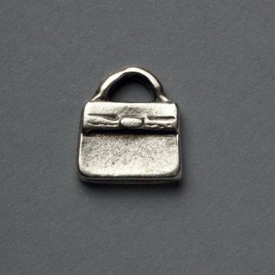 Μεταλλικό Χυτό Στοιχείο Ζάμακ Τσάντα 14Χ12mm