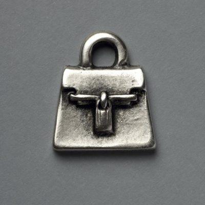 Μεταλλικό Χυτό Στοιχείο Ζάμακ Τσάντα 28Χ23mm