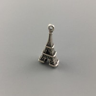Μεταλλικό Χυτό Στοιχείο Ζάμακ Πύργος του Άιφελ 19Χ9,5mm