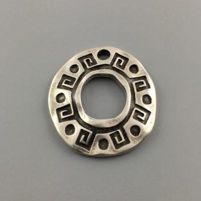 Μεταλλικό Χυτό Στοιχείο Μενταγιόν 34X31mm