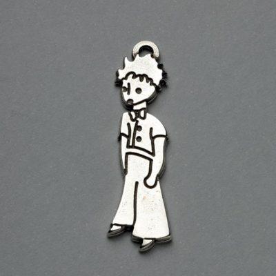 Μεταλλικό Χυτό Στοιχείο Ζάμακ Μικρός Πρίγκηπας 41Χ11mm