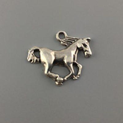 Μεταλλικό Χυτό Στοιχείο Ζάμακ Άλογο 17Χ20mm