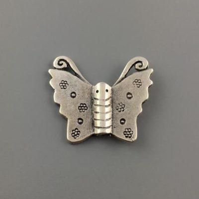 Μεταλλικό Χυτό Στοιχείο Ζάμακ Πεταλούδα 24X28mm