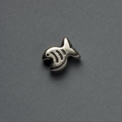 Μεταλλικό Χυτό Στοιχείο Ζάμακ Ψάρι 9Χ7mm