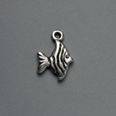 Μεταλλικό Χυτό Στοιχείο Ζάμακ Ψάρι 15Χ20mm