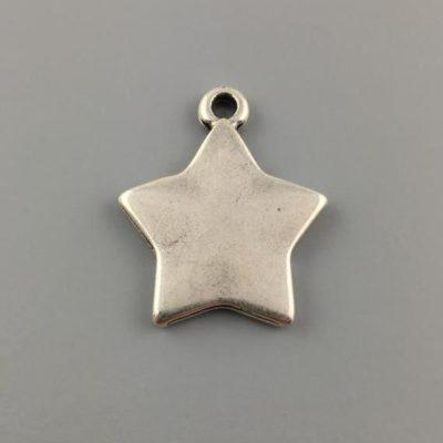 Μεταλλικό Χυτό Στοιχείο Ζάμακ Αστέρι 26,5Χ22mm