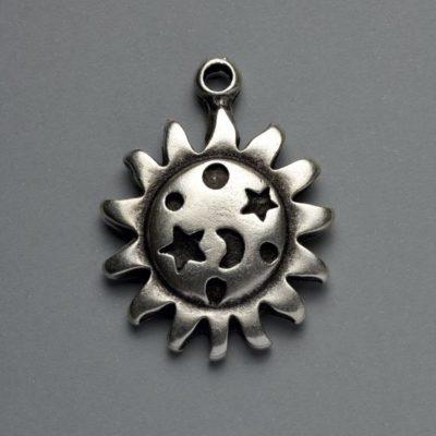 Μεταλλικό Χυτό Στοιχείο Ζάμακ Ήλιος 43Χ33mm