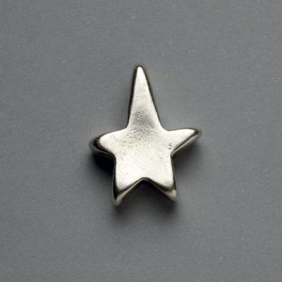 Μεταλλικό Χυτό Στοιχείο Ζάμακ Αστέρι 21Χ17mm
