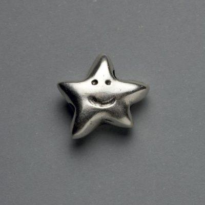 Μεταλλικό Χυτό Στοιχείο Ζάμακ Αστέρι 17Χ17mm