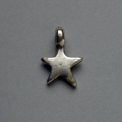 Μεταλλικό Χυτό Στοιχείο Ζάμακ Αστέρι 19Χ13mm