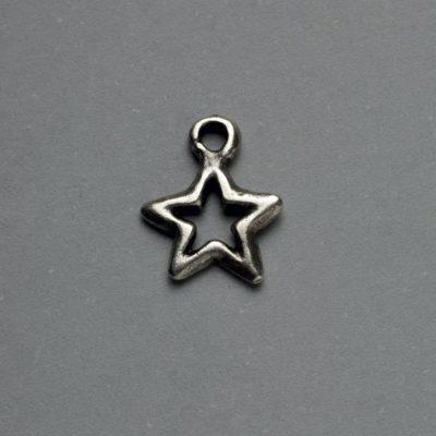 Μεταλλικό Χυτό Στοιχείο Ζάμακ Αστέρι 13Χ11mm