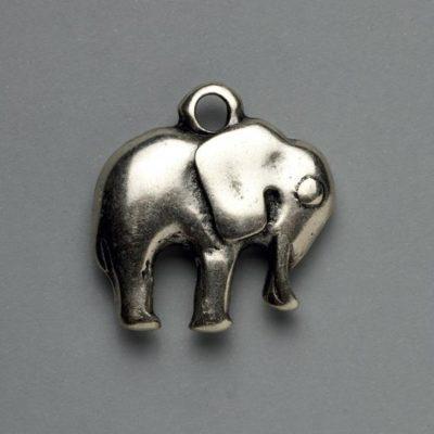 Μεταλλικό Χυτό Στοιχείο Ζάμακ Ελέφαντας 32Χ30mm