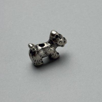 Μεταλλικό Χυτό Στοιχείο Ζάμακ Σκύλος 19Χ13mm