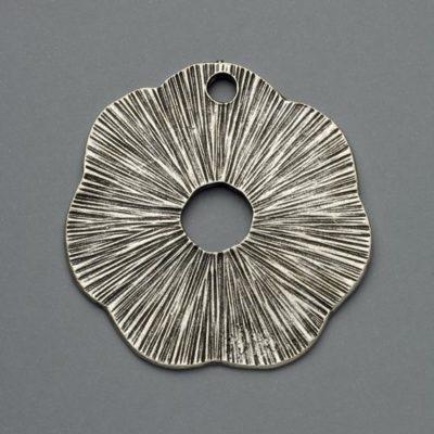 Μεταλλικό Χυτό Στοιχείο Ζάμακ Λουλούδι 53Χ53mm