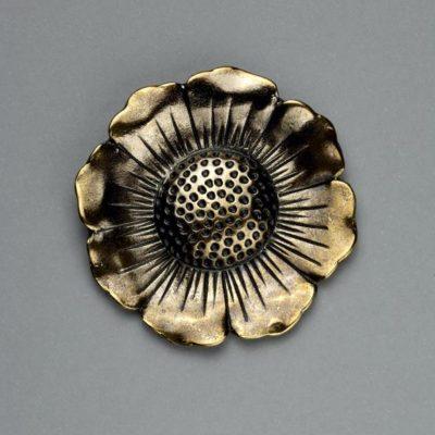 Μεταλλικό Χυτό Στοιχείο Ζάμακ Λουλούδι 45Χ45mm