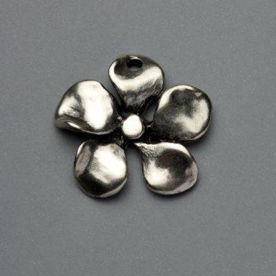 Μεταλλικό Χυτό Στοιχείο Ζάμακ Λουλούδι 30Χ30mm