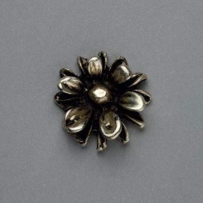 Μεταλλικό Χυτό Στοιχείο Ζάμακ Λουλούδι 20Χ20mm
