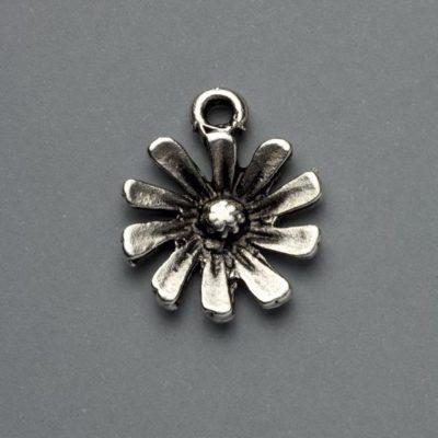 Μεταλλικό Χυτό Στοιχείο Ζάμακ Λουλούδι 21Χ17mm