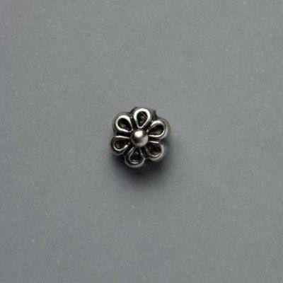 Μεταλλικό Χυτό Στοιχείο Ζάμακ Λουλούδι 7Χ7mm