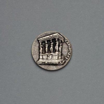 Μεταλλικό Χυτό Στοιχείο Ζάμακ Καρυάτιδες 19Χ19mm