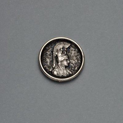 Μεταλλικό Χυτό Στοιχείο Ζάμακ Αθηνά 18Χ18mm
