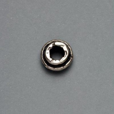 Μεταλλικό Χυτό Στοιχείο Ζάμακ Χάντρα 9Χ5mm