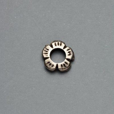 Μεταλλικό Χυτό Στοιχείο Ζάμακ Χάντρα 9Χ3mm
