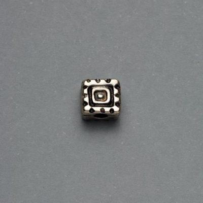 Μεταλλικό Χυτό Στοιχείο Ζάμακ Χάντρα 7Χ4mm