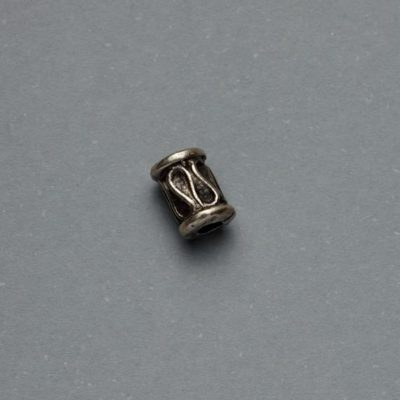 Μεταλλικό Χυτό Στοιχείο Ζάμακ Χάντρα 7Χ5mm